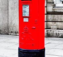 Pillarbox Red by inkedsandra