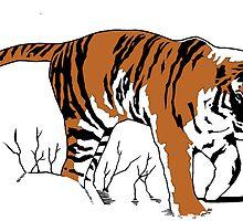 Tiger by mrboomshot
