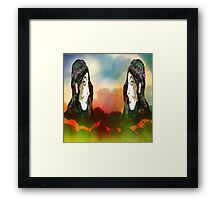 Forest of Giants Framed Print