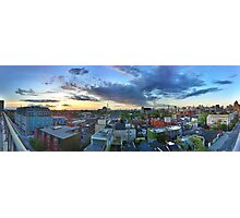 Sun Setting Over Queen Street Photographic Print