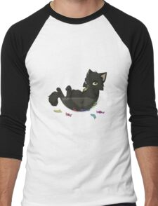 Candy bowl thief Men's Baseball ¾ T-Shirt