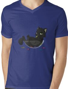 Candy bowl thief Mens V-Neck T-Shirt
