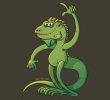 Green Iguana Giving an Idea by Zoo-co