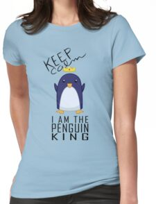 Penguin King Womens Fitted T-Shirt