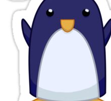 Penguin King Sticker