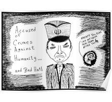 Radko Mladic - Busted Poster