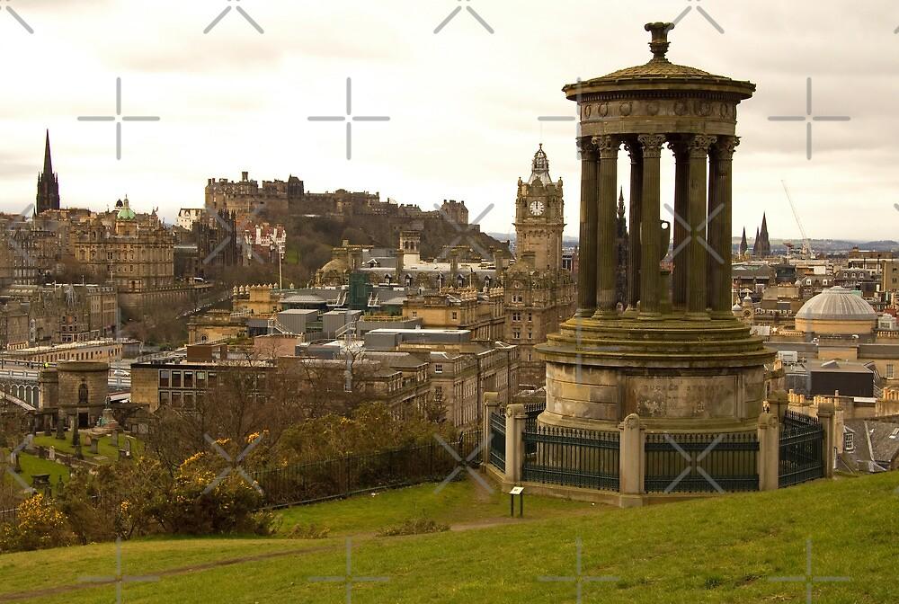 Edinburgh skyline from Calton Hill by Tom Gomez