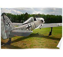 Focke Wulf FW-190 A-6 White 11 Poster