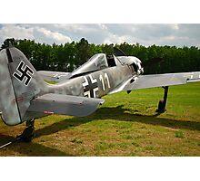 Focke Wulf FW-190 A-6 White 11 Photographic Print