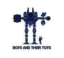 Boys and their toys Photographic Print