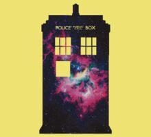 Space TARDIS - Doctor Who Kids Tee