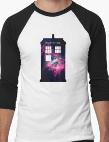 Space TARDIS - Doctor Who Men's Baseball ¾ T-Shirt