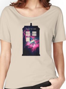 Space TARDIS - Doctor Who Women's Relaxed Fit T-Shirt