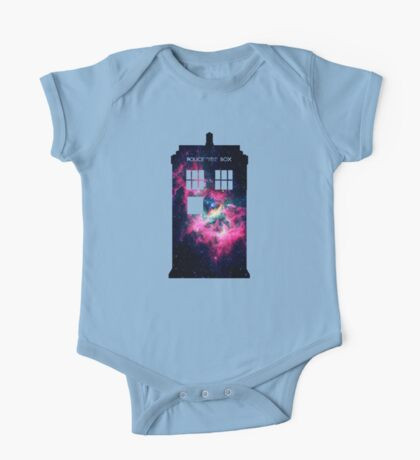 Space TARDIS - Doctor Who One Piece - Short Sleeve