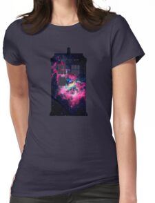 Space TARDIS - Doctor Who Womens Fitted T-Shirt