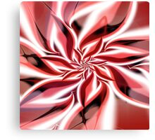 Tricolor petals Canvas Print
