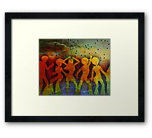 NIGHT FEVER Framed Print