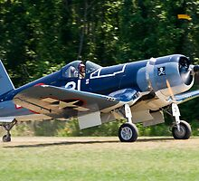 1945 Goodyear FG-1D Corsair by Robert Burdick