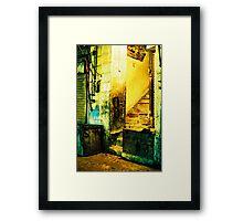 Street Corner Framed Print