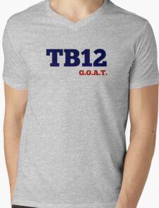 TB12 - GOAT Mens V-Neck T-Shirt