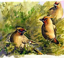 Raid of the Cedar Berries by Colleen Reynolds