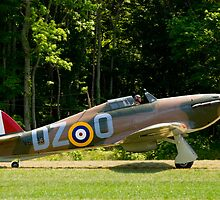 1943 Hawker Hurricane  MK XII-B by Robert Burdick