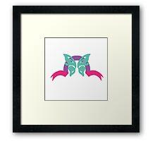 Butterfly ribbon Framed Print
