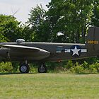 1944 North American B-25J-25-NC Mitchell by Robert Burdick