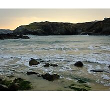Porth Dafarch Sunset Photographic Print
