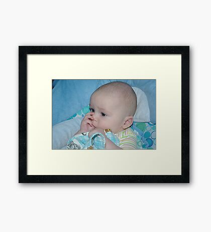 My Sweetie Framed Print