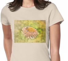 Beetle on the Strawflower Womens Fitted T-Shirt