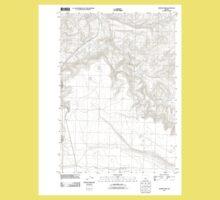 USGS Topo Map Oregon Rodman Rim 20110829 TM Kids Tee