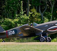 "1941 Curtise P40E ""Kittyhawk"" by Robert Burdick"