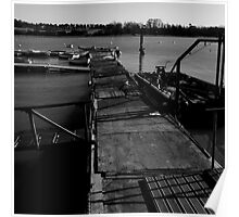 The jetty at the Deben Poster
