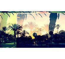Sunset Street Blend Photographic Print