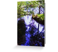 Ripple Reflection Greeting Card