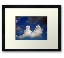 ©HCS Duality At Simile IA. Framed Print