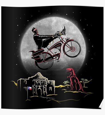 Pee Wee Phone Home Poster