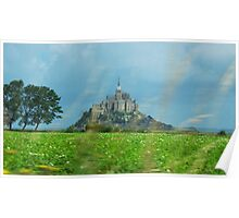 Mont Saint Michel Poster