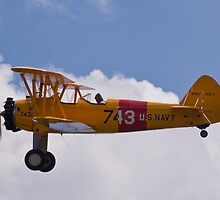 Stearman PT-17 Kaydet by Robert Burdick