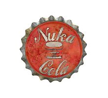 Nuka bottle Cap by Jason Hoke