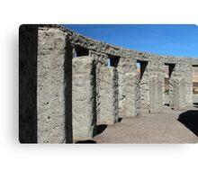 Inside Stonehenge Washington State Canvas Print