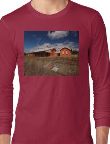 Lue Railway Station, New South Wales, Australia 2009 Long Sleeve T-Shirt