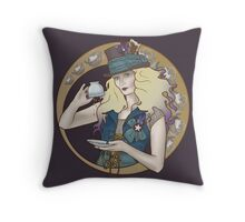 Down With Tea! Throw Pillow