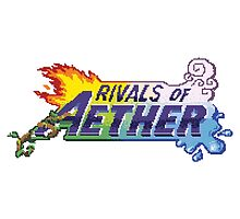 Rivals of Aether Logo Pixel print by niymi