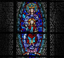 Mary and Chlid-St. Luke's Cathedral, Orlando, Florida by John Taylor