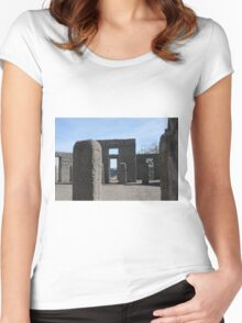 Inside Stonehenge Washington State Women's Fitted Scoop T-Shirt