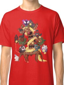 Ghostly Christmas Classic T-Shirt