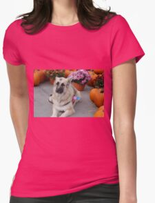 The prettiest pumpkin of all! Womens Fitted T-Shirt