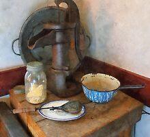 Water Pump in Kitchen by Susan Savad